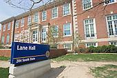 Lane Hall in Spring. 4/21/06