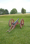 Valley Forge National Historical Park. Historic cannon..Philadelphia, Pennsylvania, PA USA.  Photo copyright Lee Foster, 510-549-2202, lee@fostertravel.com, www.fostertravel.com.  Photo 373-30344