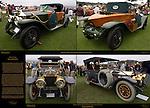 1910 Rolls Royce 40/50 Silver Ghost Morgan Double Phaeton, Titanic Ghost, 1914 Rolls Royce Silver Ghost Shapiro-Schebera Skiff, Pebble Beach Concours d'Elegance