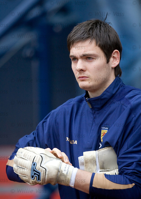 Scotland training 21.3.2007: Craig Gordon.pic willie vass
