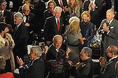 Washington, DC - January 20, 2009 -- United States Vice President Joseph Biden and his wife, Dr. Jill Biden, enter the luncheon at Statuary Hall in the U.S. Capitol in Washington DC following Barack Obama's swearing in as the 44th President of the United States on January 20, 2009..Credit: Amanda Rivkin - Pool via CNP