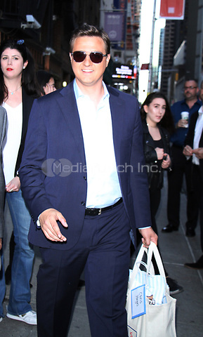NEW YORK, NY - APRIL 17:  Chris Hayes at The Late Show With Stephen Colbert in New York City on April 17, 2017. Credit: RW/MediaPunch