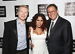 Anthony Rapp, Daphne Rubin Vega and Michael Greif attends New York Theatre Workshop's 2017 Spring Gala at the Edison Ballroom on May 15, 2017 in New York City.