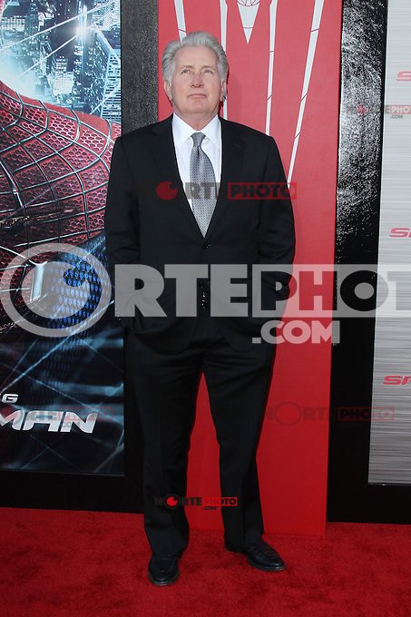 Martin Sheen at the premiere of Columbia Pictures' 'The Amazing Spider-Man' at the Regency Village Theatre on June 28, 2012 in Westwood, California. &copy; mpi22/MediaPunch Inc. *NORTEPHOTO.COM*<br />