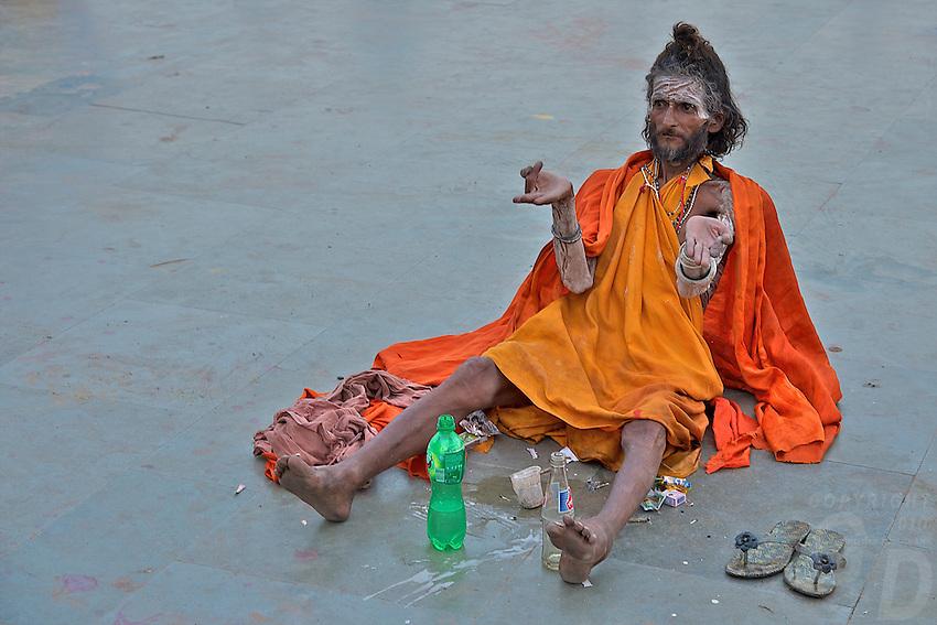 Sadu at Varanasi India, | Gunther Deichmann Sadu