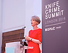Sadia Khan addresses the first Knife Crime Summit <br /> London 2016 <br /> MOPAC <br /> at Friend's Meeting House, London, Great Britain <br /> 13th October 2016 <br /> <br /> <br /> Sophie Linden <br /> Deputy Mayor for Policing &amp; Crime <br /> <br /> <br /> Photograph by Elliott Franks <br /> Image licensed to Elliott Franks Photography Services