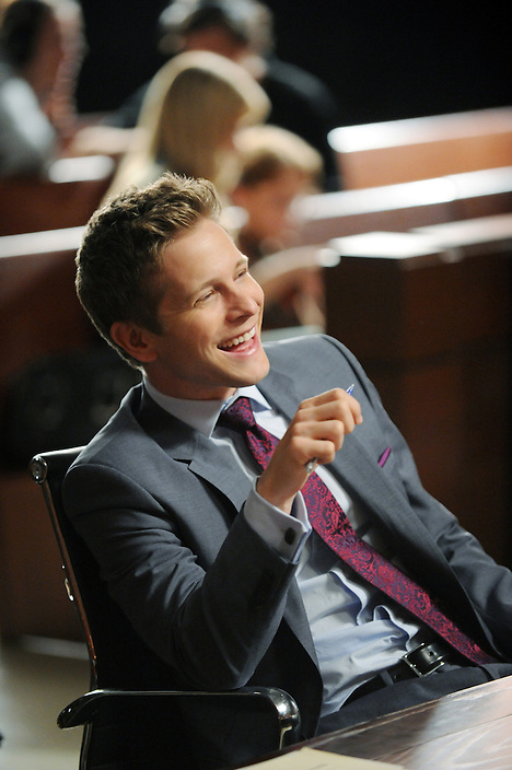 """Feeding the Rat""--Matt Czuchry on the set of the CBS drama THE GOOD WIFE airing Sundays (9:00-10:00 PM, ET/PT) the CBS Television Network. Photo: David M. Russell/CBS ©2011 CBS Broadcasting Inc. All Rights Reserved."
