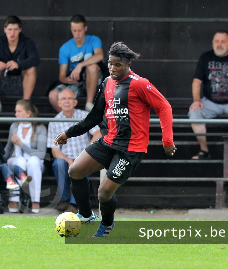 Winkel Sport : Yves Ngabu.foto VDB / BART VANDENBROUCKE