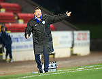St Johnstone v Ross County...17.11.12      SPL.Steve Lomas shouts.Picture by Graeme Hart..Copyright Perthshire Picture Agency.Tel: 01738 623350  Mobile: 07990 594431