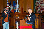 January 11, 2012 - Brooklyn, New York, USA: NYPD New York City Police Commissioner Ray Kelly delivers Welcome Remarks at 2nd Annual Interfaith Memorial Service for Haiti, Wednesday night at Brooklyn Borough Hall. The service was held two years after the Mw 7.0 earthquake at Haiti.