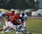 Lafayette HIgh vs. Pontotoc in preseason football action at LHS in Oxford, Miss. on Friday, August 13, 2010.