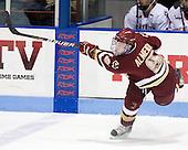Barry Almeida (BC - 9) - The Northeastern University Huskies defeated the visiting Boston College Eagles 2-1 on Saturday, February 19, 2011, at Matthews Arena in Boston, Massachusetts.