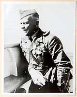 BNPS.co.uk (01202 558833)<br /> Pic: Dickins/BNPS<br /> <br /> Field Marshal Wolfram von Richthofen in high spirits during the Spanish Civil War.<br /> <br /> The unseen personal photo album of Field Marshal Wolfram von Richthofen, cousin to the legendary Red Baron, which gives an unprecedented insight into his military career in the Third Reich, has been rediscovered.<br /> <br /> Wolfram served in the Red Baron's squadron in the WW1, went on to design the 'Jericho trumpet' of the infamous Stuka Bomber between the wars, before leading the Condor Legion in the Spanish Civil War.<br /> <br /> After the outbreak of WW2 the fascinating album shows Richthofen's lead roll in Operation Barbarossa - the Nazi's suprise invasion of Communist Russia and their race to conquer the vast country before the onset of the notorious Russian winter.<br /> <br /> The two albums were taken from Berlin by a British soldier at the end of the Second World War who kept it for 60 years before it was passed into the hands of a private collector.<br /> <br /> Dickins auctions are selling the historic albums with a &pound;20,000 estimate on 31st March.