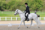 Class 3. Novice 23. British dressage (BD). Brook Farm Training Centre. Essex. 16/04/2017. MANDATORY Credit Ellen Szalai/Sportinpictures - NO UNAUTHORISED USE - 07837 394578