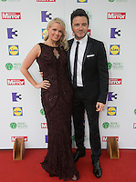 03/06/2014  <br /> Gillian Filan &amp; Shane Filan <br /> during the Pride of Ireland awards at the Mansion House, Dublin.<br /> Photo: Gareth Chaney Collins