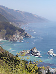 A beautiful seascapes of Californias Pacific Ocean. Its scenery,the blue water and the endless sky takes you in wherever you are.