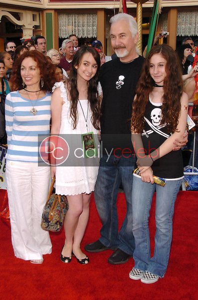 Rick Baker and family<br />at the premiere of Disney's &quot;Pirates of the Caribbean: Dead Man's Chest&quot;. Disneyland, Anaheim, CA. 06-24-06<br />Scott Kirkland/DailyCeleb.com 818-249-4998