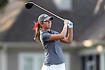 28 October 2016: University of Alabama's Kristen Gillman. The First Round of the 2016 Landfall Tradition NCAA Women's Golf Championship hosted by the University of North Carolina Wilmington Seahawks was held at the Pete Dye Course at the Country Club of Landfall in Wilmington, North Carolina.