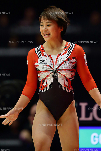 Mai Murakami (JPN), <br /> OCTOBER 27, 2015 - Artistic Gymnastics : 2015 World Artistic Gymnastics Championships Women's Team Final at The SSE Hydro Arena in Glasgow, Great Britain. <br /> (Photo by AFLO) [2268]