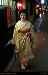 Geisha Gion District Kyoto Japan
