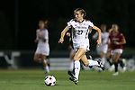 22 September 2016: Notre Dame's Kaleigh Olmstead. The North Carolina State University Wolfpack hosted the University of Notre Dame Fighting Irish at Dail Soccer Field in Raleigh, North Carolina in a 2016 NCAA Division I Women's Soccer match. Notre Dame won the game 1-0.