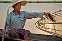 A variety of carp is the most common fish caught in the Inle lake. Cut in pieces it is a luxury food used on Burmese curry dishes.