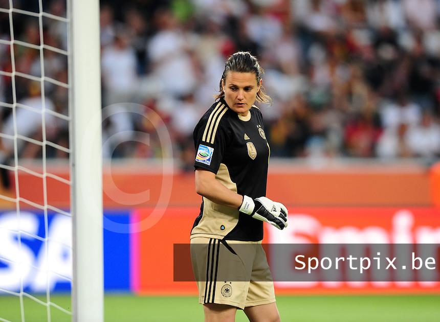 Fifa Women's World Cup Germany 2011 : France - Germany ( Frankrijk - Duitsland ) at Munchengladbach World Cup stadium : Nadine ANGERER.foto DAVID CATRY / Vrouwenteam.be