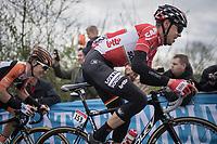 Bart De Clercq (BEL/Lotto-Soudal) in the race lead up La Redoute<br /> <br /> 103rd Li&egrave;ge-Bastogne-Li&egrave;ge 2017 (1.UWT)<br /> One Day Race: Li&egrave;ge &rsaquo; Ans (258km)