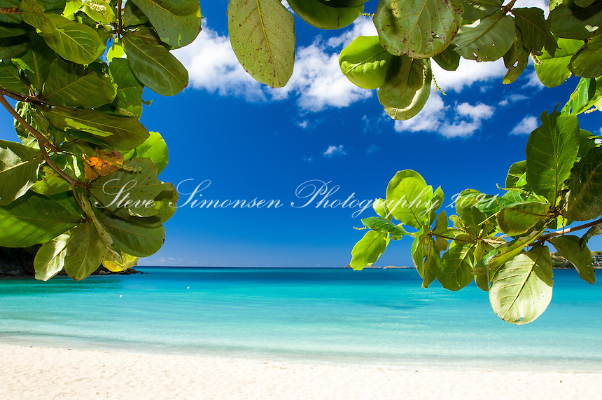 Lindberg Beach<br /> Emerald Beach Resort near the airport<br /> St Thomas, US Virgin Islands