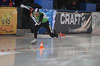 SCHAATSEN: AMSTERDAM: Olympisch Stadion, 28-02-2014, KPN NK Sprint/Allround, Coolste Baan van Nederland, Koen Verweij, ©foto Martin de Jong