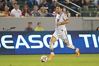 Carson, California - Saturday, Sept. 20, 2014: The LA Galaxy defeated Dallas FC 2-1 in a Major League Soccer (MLS) match at StubHub Center stadium.