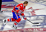 24 January 2009: Montreal Canadiens' right wing forward Alexei Kovalev from Russia takes part in the Elimination Shootout of the NHL SuperSkills Competition, during the All-Star Weekend at the Bell Centre in Montreal, Quebec, Canada. ***** Editorial Sales Only ***** Mandatory Photo Credit: Ed Wolfstein Photo