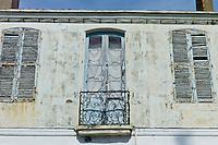 Traditional French architecture at St Martin de Re,  Ile de Re, France