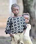Congolese girls in Kananga.