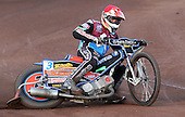 Peter Karlsson of Lakeside Hammers - Lakeside Hammers vs Swindon Robins at the Arena Essex Raceway, Pufleet - 18/06/12 - MANDATORY CREDIT: Rob Newell/TGSPHOTO - Self billing applies where appropriate - 0845 094 6026 - contact@tgsphoto.co.uk - NO UNPAID USE..