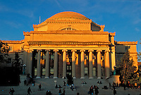 Low Memorial Library, Columbia University, Morningside Heights, Manhattan, New York CIty, New York, designed by Charles McKim of McKim, Mead and White, Neoclassical