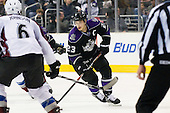 Dustin Brown (Los Angeles Kings, #23) during ice-hockey match between Los Angeles Kings and Colorado Avalanche in NHL league, Februar 26, 2011 at Staples Center, Los Angeles, USA. (Photo By Matic Klansek Velej / Sportida.com)