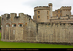 Tower of London, Legge's Mount, Devereux Tower, Waterloo Barracks, London, England, UK