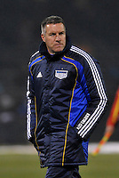 Head Coach Peter Vermes...Kansas City Wizards defeated D.C Utd 4-0 in their home opener at Community America Ballpark, Kansas City, Kansas.