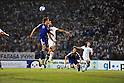 (L-R) Tadanari Lee, Shinji Okazaki (JPN), SEPTEMBER 6, 2011 - Football / Soccer : Shinji Okazaki (2R) of Japan scores a goal during the FIFA World Cup Brazil 2014 Asian Qualifier Third Round Group C match between Uzbekistan Japan at Pakhtakor Markaziy Stadium in Tashkent, Uzbekistan. (Photo by AFLO)