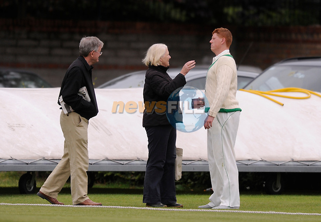 during Day 2 of  Ireland vs Canada 4 Day ICC Cricket Game at Rathmines Cricket Club, Dublin, (Photo by Joe Curtis/NEWSFILE)