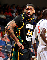CHARLOTTESVILLE, VA- DECEMBER 6: Ryan Pearson #24 of the George Mason Patriots during the game on December 6, 2011 against the Virginia Cavaliers at the John Paul Jones Arena in Charlottesville, Virginia. Virginia defeated George Mason 68-48. (Photo by Andrew Shurtleff/Getty Images) *** Local Caption *** Ryan Pearson