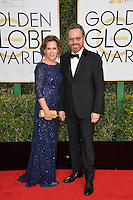 Bryan Cranston &amp; wife at the 74th Golden Globe Awards  at The Beverly Hilton Hotel, Los Angeles USA 8th January  2017<br /> Picture: Paul Smith/Featureflash/SilverHub 0208 004 5359 sales@silverhubmedia.com