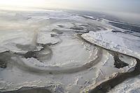 Suncor Millenium oil sand strip mine - Tar Sand (Oil Sand) mining and refining near Ft McMurray Alberta