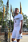 26 August 2016: Wake Forest's Jared Odenbeck. The Wake Forest University Demon Deacons hosted the Saint Louis University Billikens in a 2016 NCAA Division I Men's Soccer match. SLU won the game 1-0.