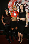 Adult Film Actresses Lisa Ann, Britney Shannon and Jayden James at The Ultimate Super Bowl Party Hosted by Lisa Ann, Jayden James and Britney Shannon at Headquarters Gentlemen's Club, NY