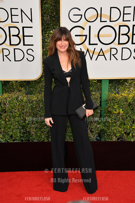 Kathryn Hahn at the 74th Golden Globe Awards  at The Beverly Hilton Hotel, Los Angeles USA 8th January  2017<br /> Picture: Paul Smith/Featureflash/SilverHub 0208 004 5359 sales@silverhubmedia.com