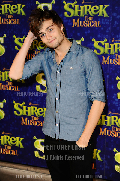 """Douglas Booth arrives for the 1st night party of """"Shrek The Musical"""" at Somerset House, London. 14/06/2011  Picture by: Steve Vas / Featureflash"""