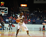 Ole Miss' Terrance Henry (1) vs. SMU at the C.M. &quot;Tad&quot; Smith Coliseum in Oxford, Miss. on Tuesday, January 3, 2012. Ole Miss won 50-48.