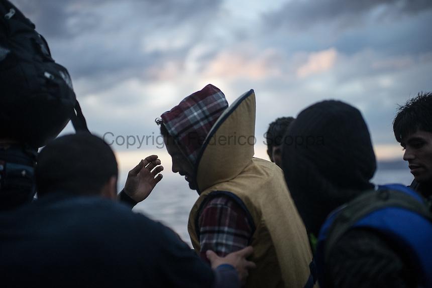 Cold dark Sea - Lesbos